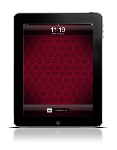 Hollyhock Pattern on the iPad