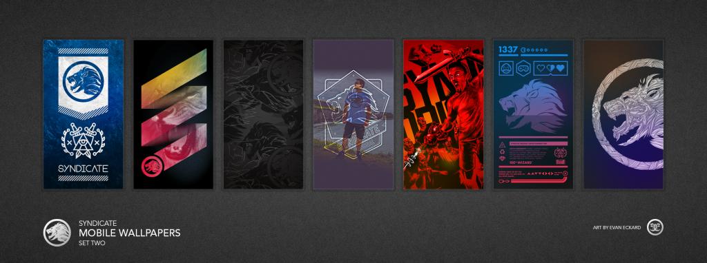 Evan Eckard Syndicate Mobile Wallpapers Set 2